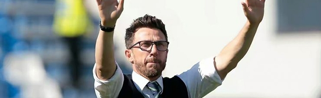 Di Francesco is capable of surprising Klopp