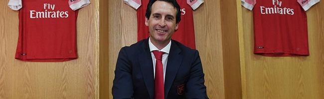 Unai Emery is Arsenal manager