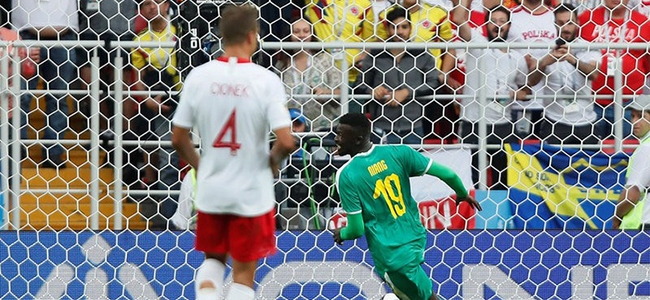 Poland gave Senegal three points