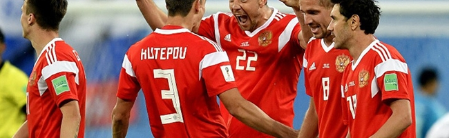 Russia advance to the World Cup play-offs