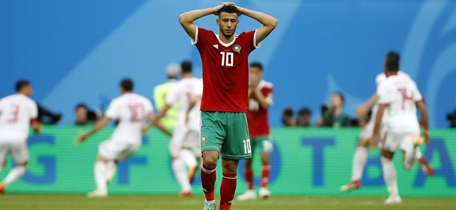 Morocco are out of the World Cup