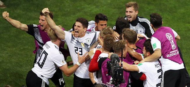 Germany almost said goodbye to the World Cup