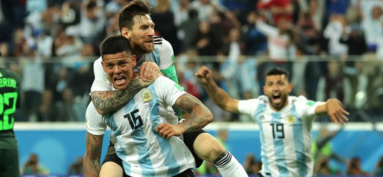 Argentina advanced to play-offs