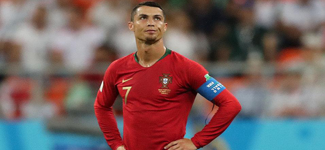 Ronaldo following Messi is leaving the Mondial
