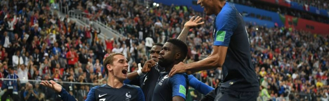 France are the first finalists of the WC 2018