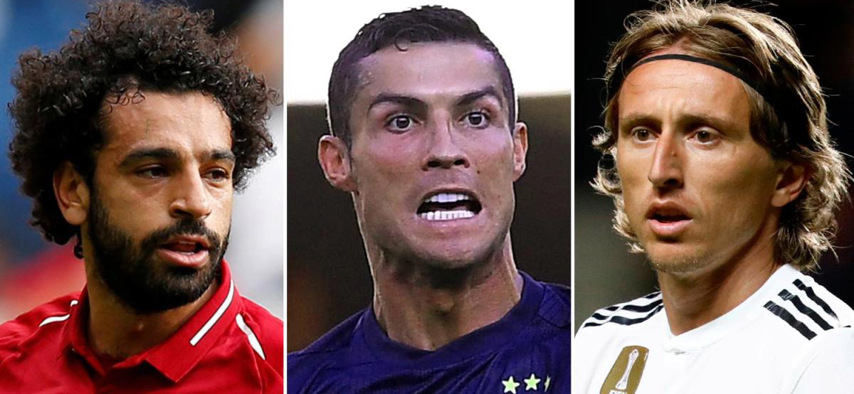 Ronaldo, Salah or Modric will become the player of the year
