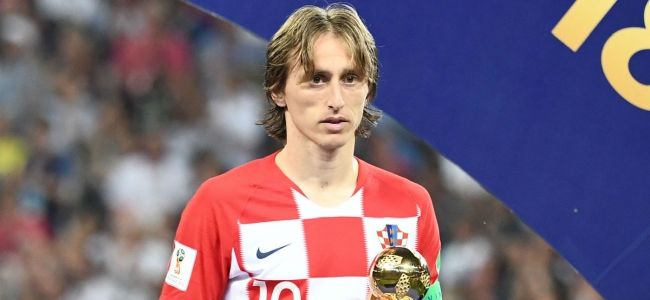 Modric is not pursuing awards