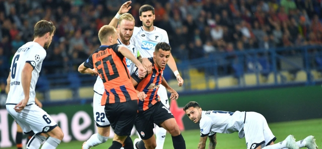 Shakhtar were saved in the match against Hoffenheim