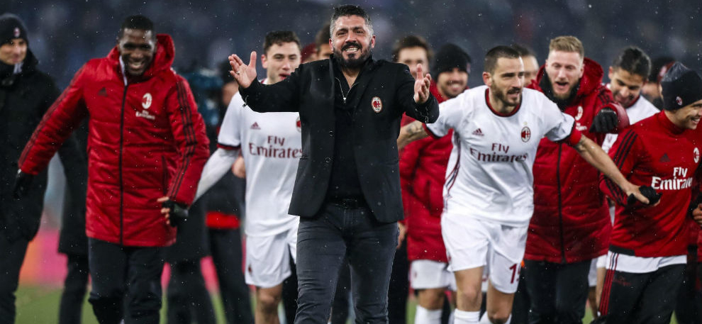 Milan got into Champions League zone