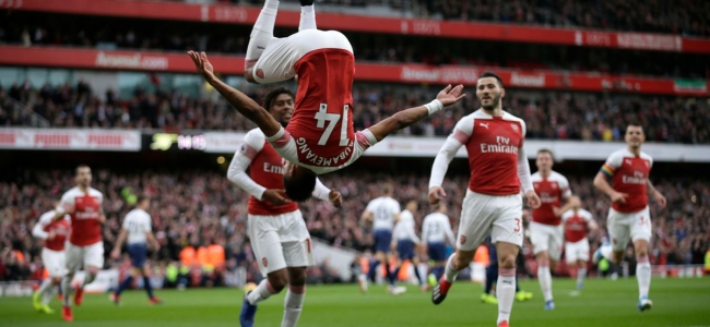 Arsenal get into top four