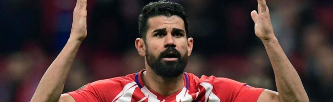Atletico are left without Diego Costa