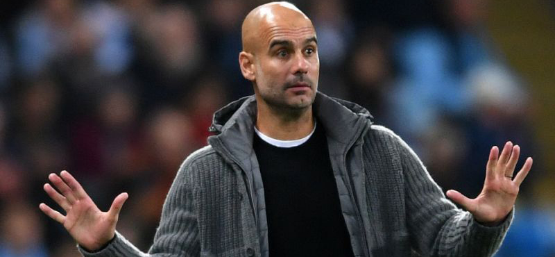 Guardiola makes excuses before the main match of the season
