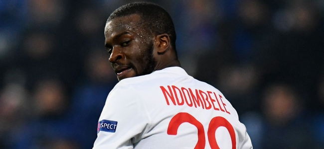 Lyon will not let Ndombele go to Manchester City