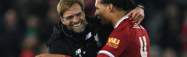 Klopp and van Dijk were best in December