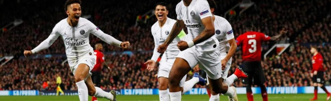 PSG put Manchester United on ground