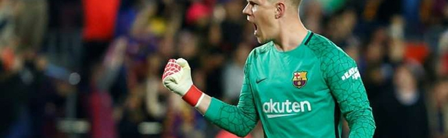 Ter Stegen will save Barcelona