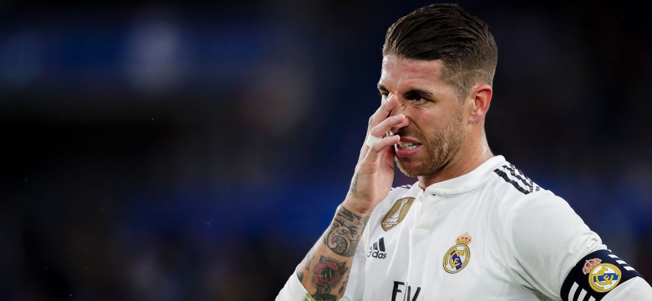 Ramos is in danger of disqualification