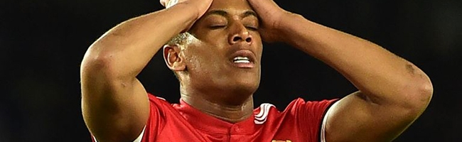 Martial has bad luck once again