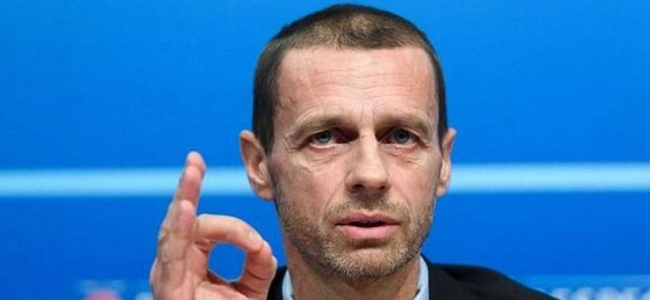 Ceferin expressed UEFA's position regarding racism