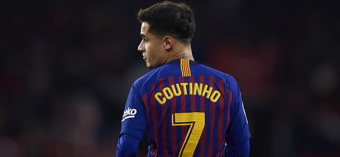 Liverpool leader envied Coutinho