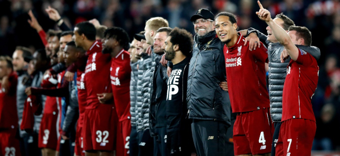 In the second leg of the Champions League semi-final, Liverpool wrote a new chapter in football history, recouping after a 3-0 defeat at Camp Nou six days ago