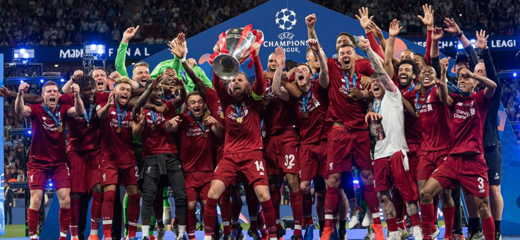 In the final match of the Champions League, Jurgen Klopp's Liverpool defeated Mauricio Pochettino's Tottenham London 0:2