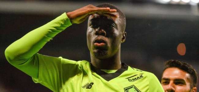 Nicolas Pepe is expected at Liverpool