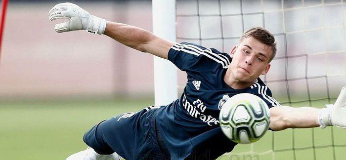 Lunin doesn't get a chance in Real