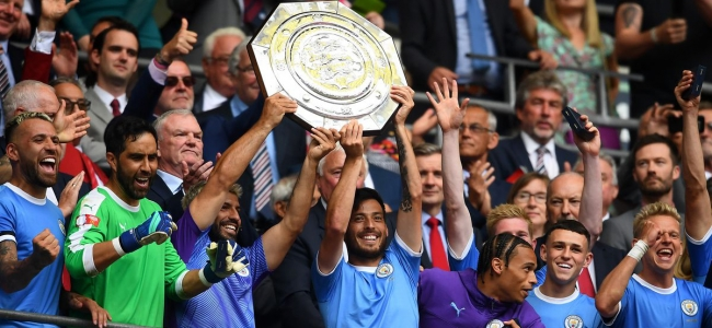 Manchester City take the Community Shield