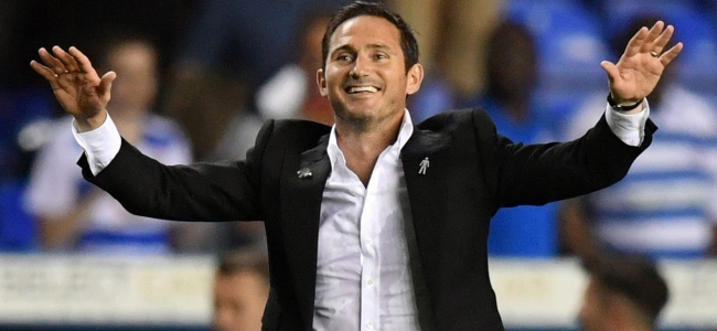 Lampard likes that no one believes in him