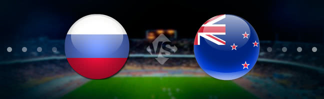Russia vs New Zealand Prediction 17 June 2017
