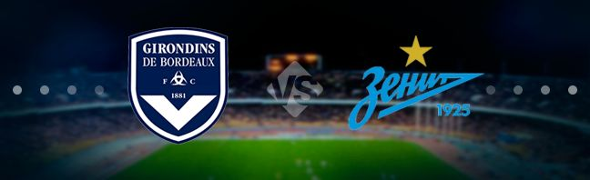 Bordeaux vs Zenit Prediction 8 November 2018
