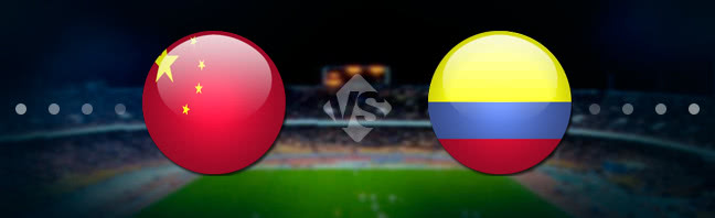 China vs Colombia Prediction 14 November 2017