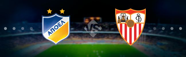 APOEL host their guests Sevilla at the Neo GSP in Levkosia in the 6th game week of the UEFA Europa League.