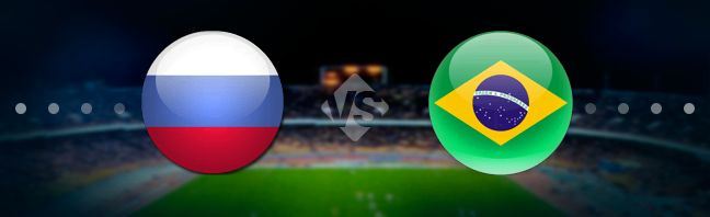Russia vs Brazil Prediction 23 March 2018