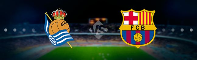 Real Sociedad host their guests Barcelona at the Estadio de Anoeta in the 17th game week of the Spanish national elite divison La Liga.