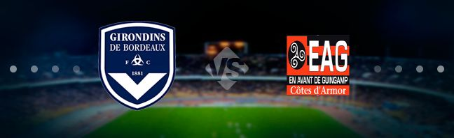 Bordeaux host their guests Guingamp at the Stade Matmut-Atlantique in the 23rd game week of the French national elite division Ligue 1.