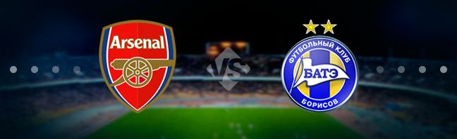 Arsenal host their guests BATE at the Emirates Stadium in London in the UEFA Europa League play-offs.