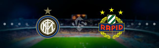 Internazionale host their guests Rapid Wien at the Stadio Giuseppe Meazza in the UEFA Europa League play-offs.