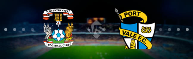 Coventry City vs Port Vale Prediction 21 March 2017