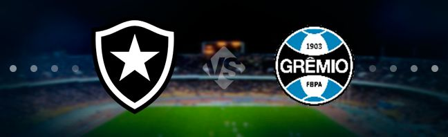Botafogo host their guests Gremio at the Estadio Nilton Santos in Rio de Janeiro in the 9th game week of the Campeonato Brasileiro Serie A.