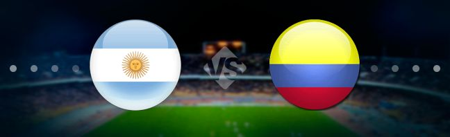 Argentina meet Colombia national football team at the Arena Fonte Nova in Salvador in the regular match of the 1st game week of the Copa America.